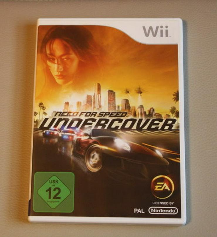 Need For Speed Undercover Nintendo Wii Spiel