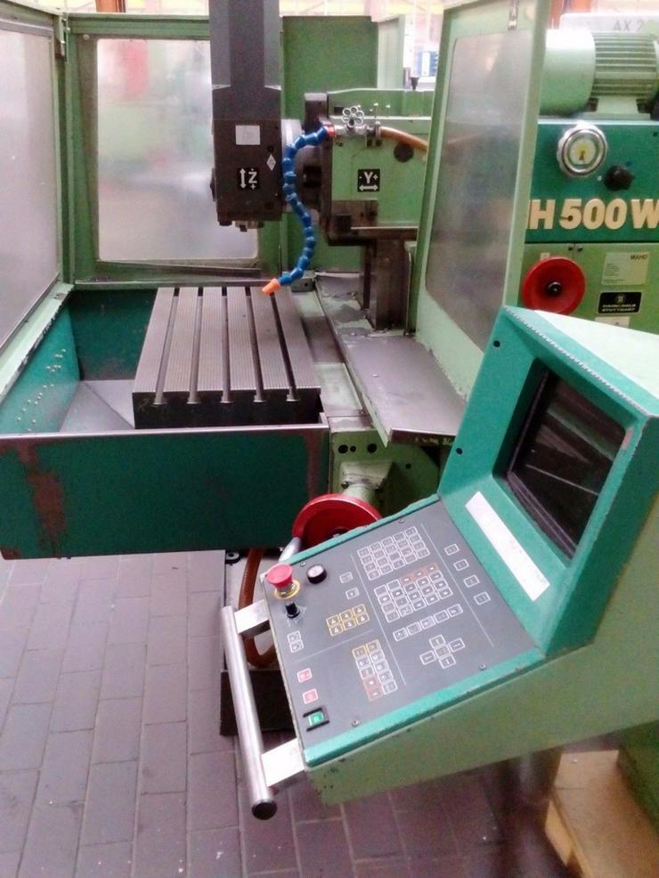 Fraesmaschine Maho MH500 W2 Deckel
