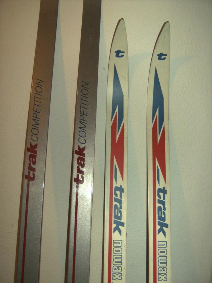 Bild 2: 2 Paar Langlaufski 190cm und 210 cm, nowax