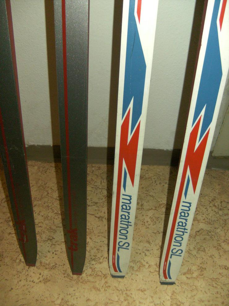 Bild 4: 2 Paar Langlaufski 190cm und 210 cm, nowax