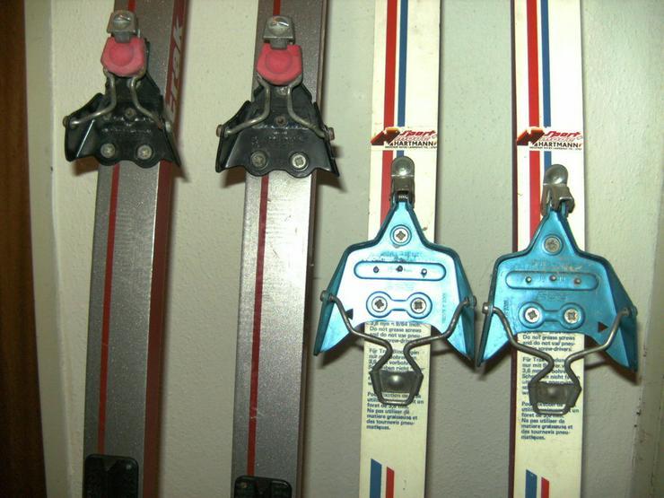 Bild 5: 2 Paar Langlaufski 190cm und 210 cm, nowax