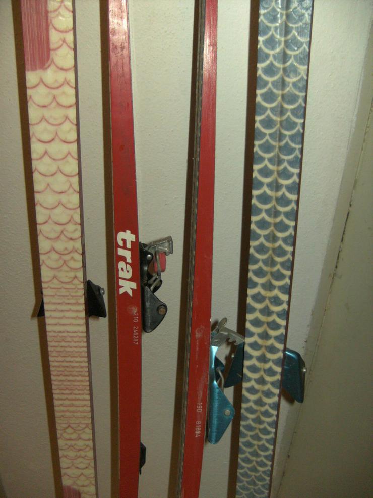 Bild 6: 2 Paar Langlaufski 190cm und 210 cm, nowax