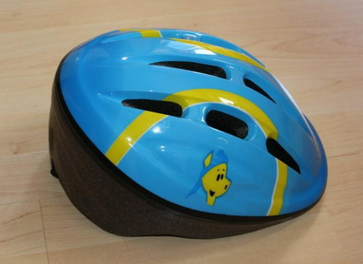 Hudora Kinder Fahrradhelm Schutzhelm blau 52-54