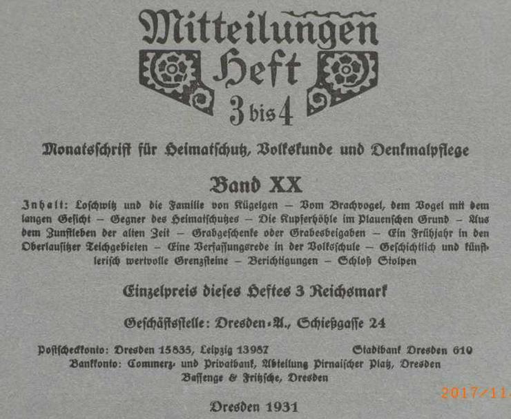 Bild 3: Monatsschrift für Heimat u. Denkmalpflege