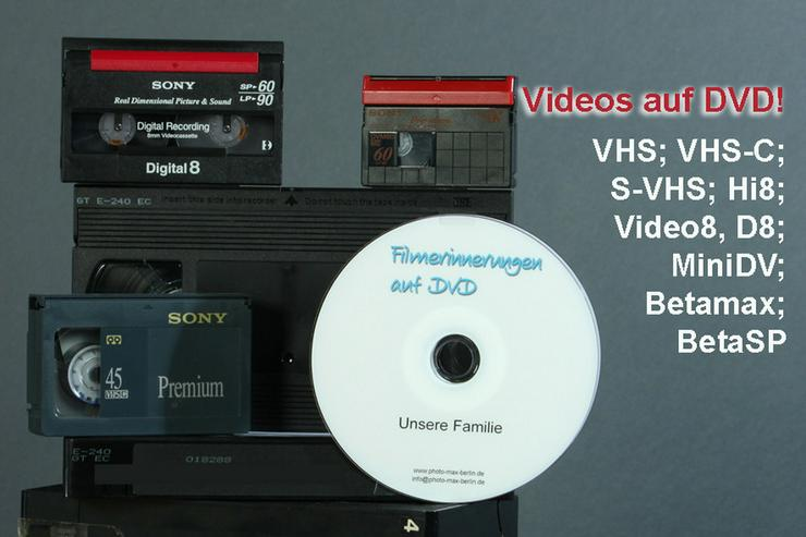 Bild 4: VHS-Videokassetten digitalisieren
