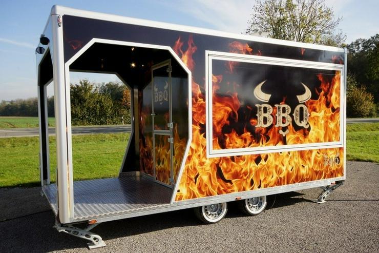 Bild 3: 5,00m x 2,40m BBQ Veranda Trailer