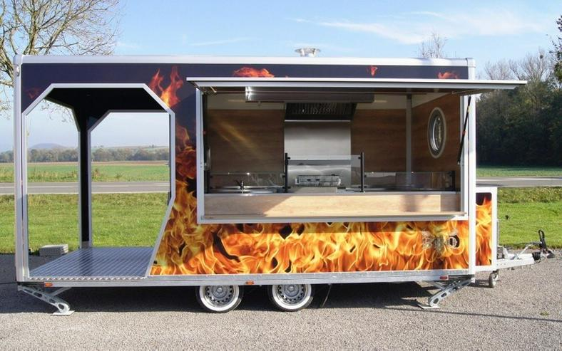 Bild 1: 5,00m x 2,40m BBQ Veranda Trailer