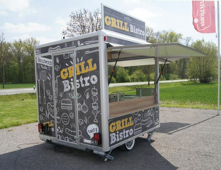 2,50m x 2,30m Grill Bistro - Kastenanhänger & Kipper - Bild 3