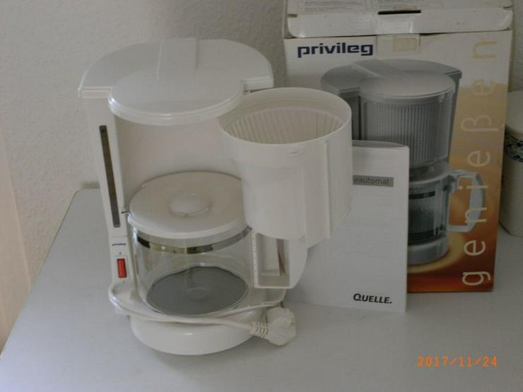 Bild 2: Kaffeeautomat von Privileg für 10 Tassen