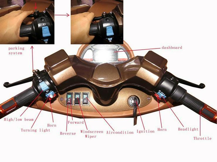 Bild 4: Elektromobil Scooter mit Kabine