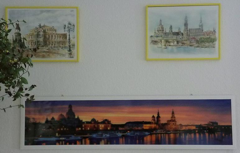 Bild 2: LED Wandbild 1200 x 300 Dresden Skyline