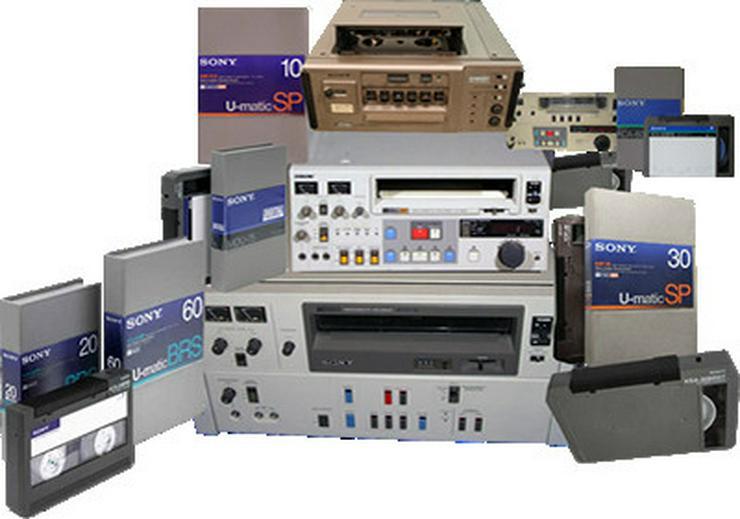 Umatic Lowband, Highband und SP digitalisieren.