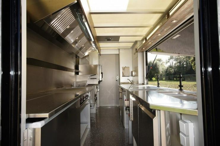 Bild 9: Step Van Food Truck - Road Diner