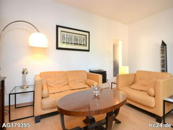 Möblierte 3-Zimmer Wohnung mit Balkon und Internet in Wiesbaden - Wohnen auf Zeit - Bild 1