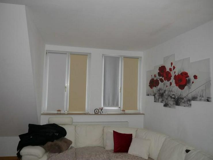 Bild 5: Bezugsfreie Maisonette-Wohnung, saniert, Bad mit Fenster, Wanne und Dusche, Balkon, 4. Obe...