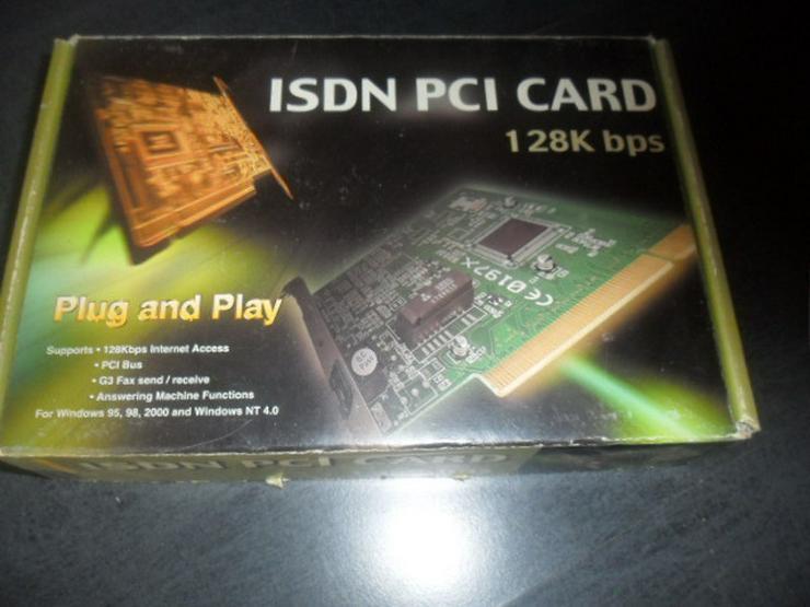 ISDN PCI Card  original