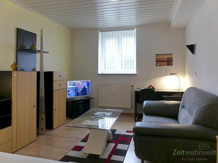 (EF0291_Y) Erfurt: Daberstedt, möblierte 1-Raumwohnung in ruhiger Lage; WLAN inkl. - Wohnen auf Zeit - Bild 1