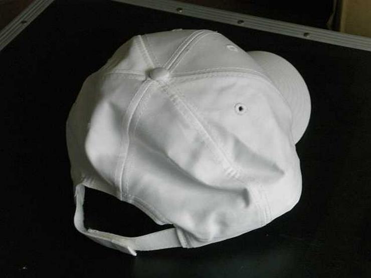Bild 3: Schirmmütze (Basecap) weiß
