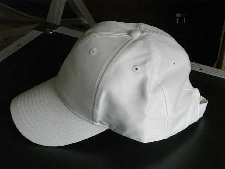 Schirmmütze (Basecap) weiß - Kopfbedeckungen - Bild 1