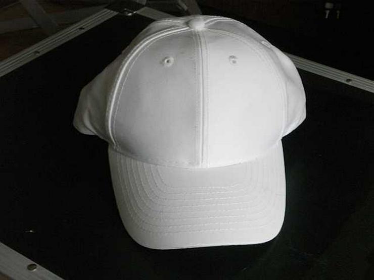 Bild 2: Schirmmütze (Basecap) weiß
