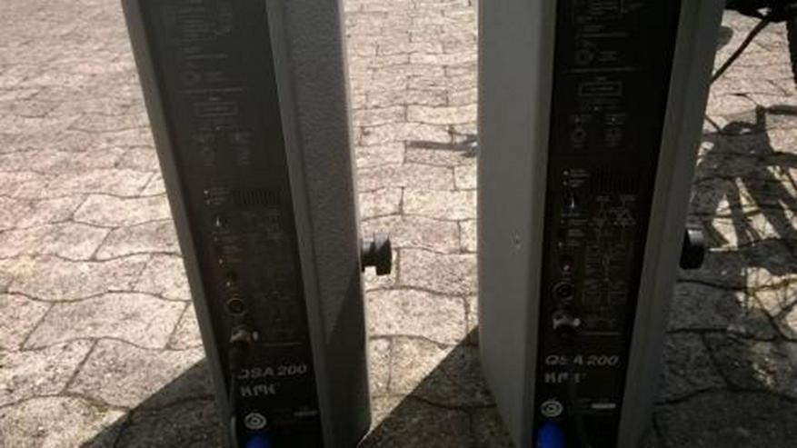Bild 2: vermiete aktive PA Boxen Topteile in Bielefeld