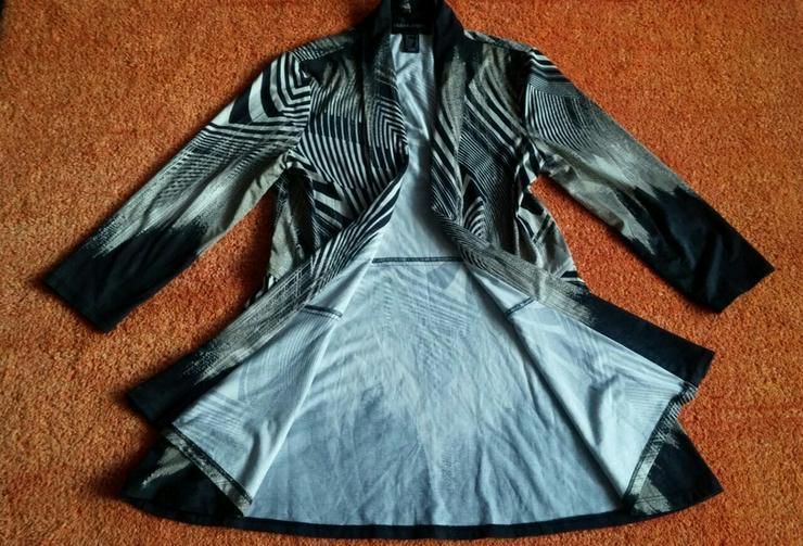 Damen Tunika-Bluse Überwurf Gr.36 Frank Lyman