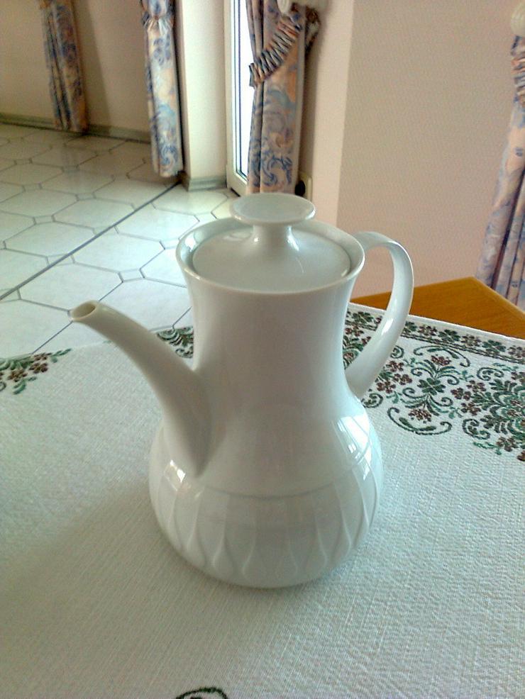 Thomas Lanzette weiß Kaffeekanne - neu