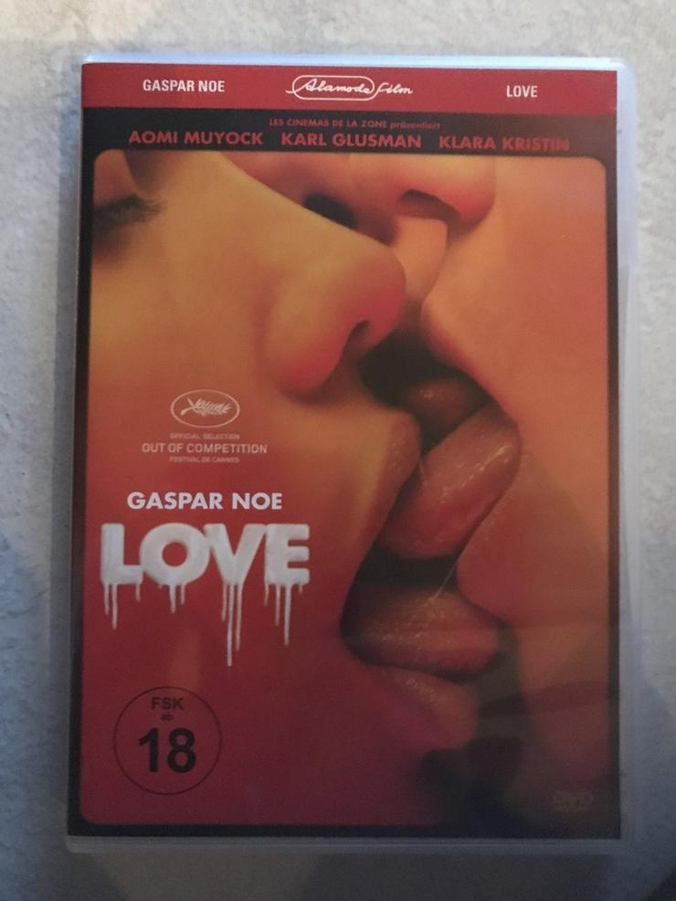 LOVE von Gaspar Noe, DVD, FSK 18