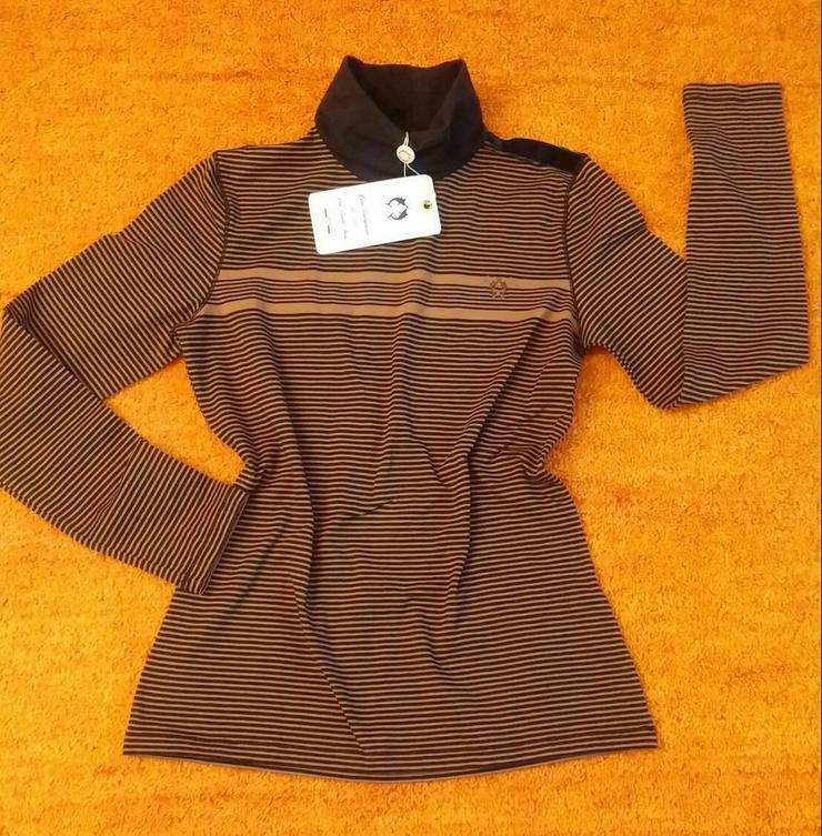 NEU Damen Pullover Rollkragen Sweatshirt Gr.38