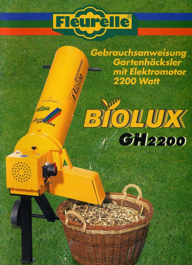 Gartenhäcksler biolux GH2200