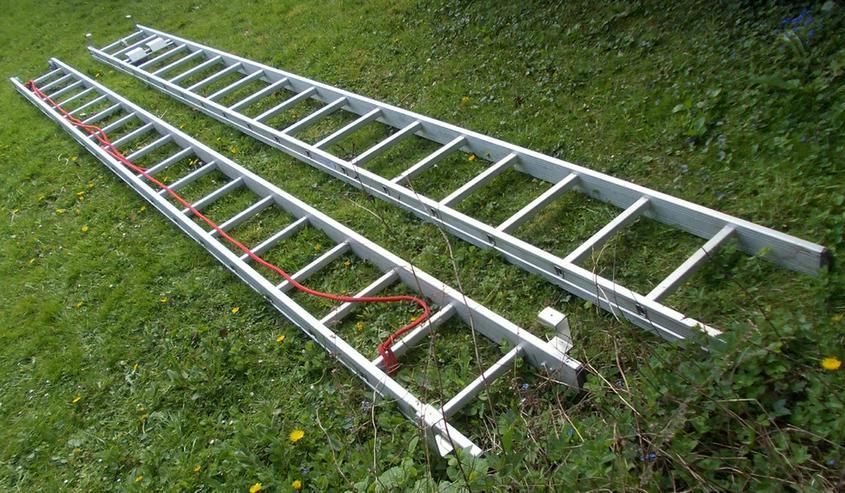 Profi-Seilzugleiter Aluminium 2-teilig (4/36) - Bild 1