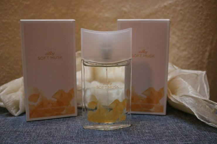 2 Stck Eau de Toilette Silky Soft Musk, AVON - Parfums - Bild 1