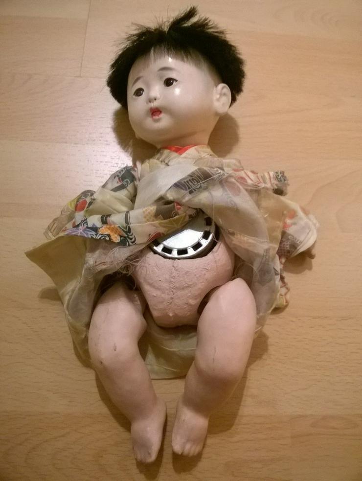 Bild 2: 2 x antike Ichimatsu Ningyo Puppe