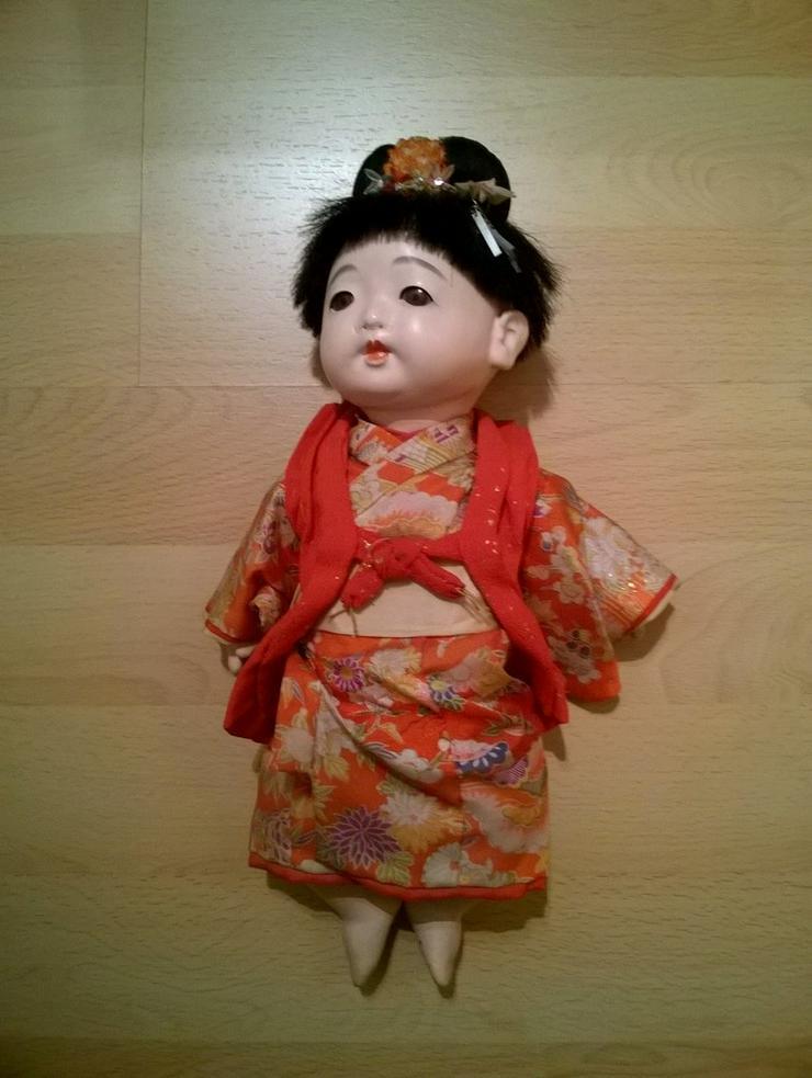 Bild 5: 2 x antike Ichimatsu Ningyo Puppe