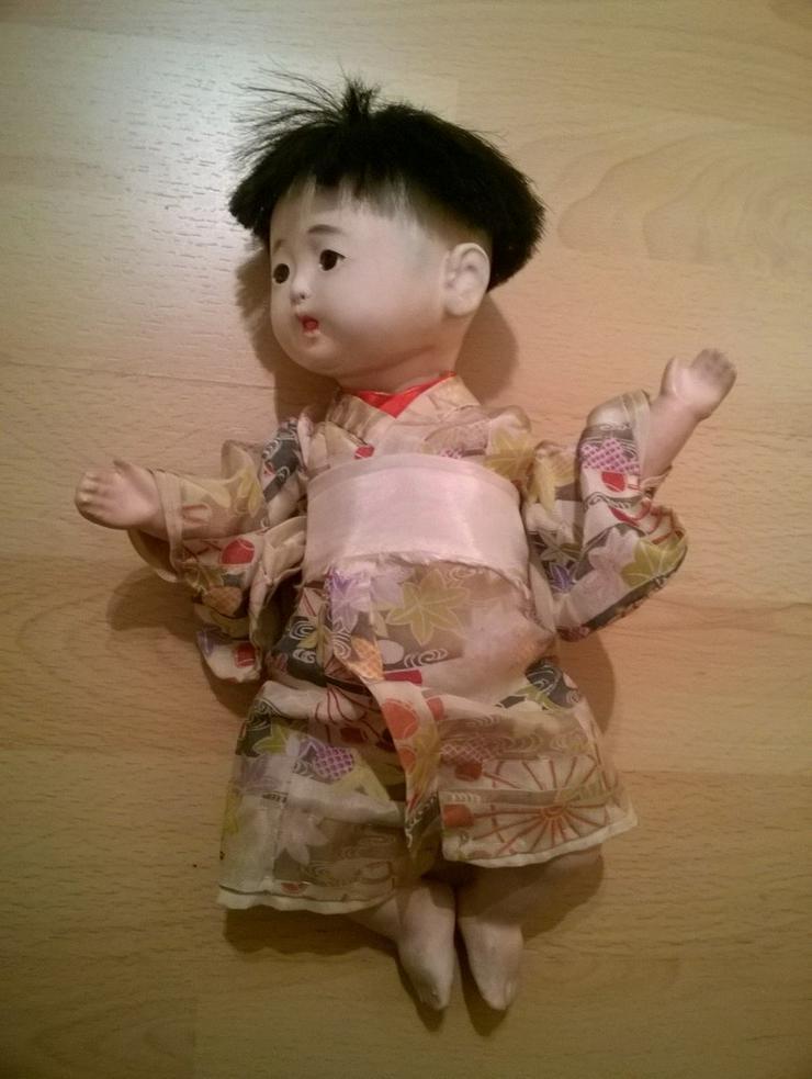 Bild 4: 2 x antike Ichimatsu Ningyo Puppe