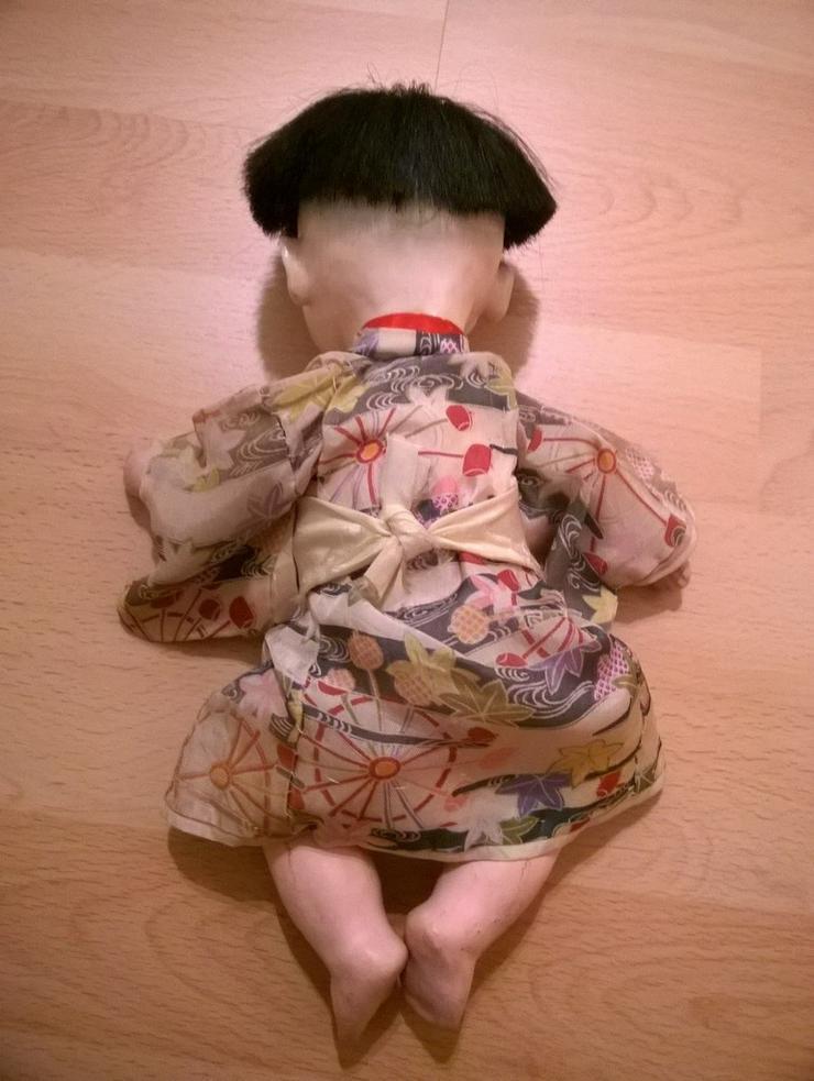 Bild 3: 2 x antike Ichimatsu Ningyo Puppe