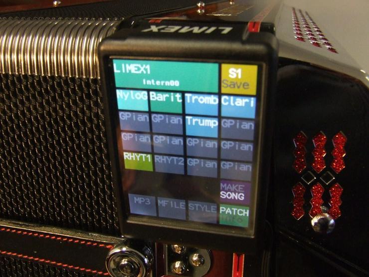Limex Systeme für Akkordeon/Harmonika