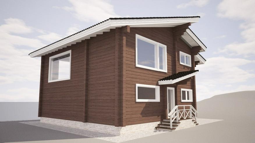 Bild 4: Blockbohlenhaus Aisha 131 m2
