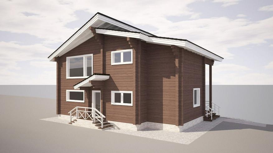 Bild 5: Blockbohlenhaus Aisha 131 m2