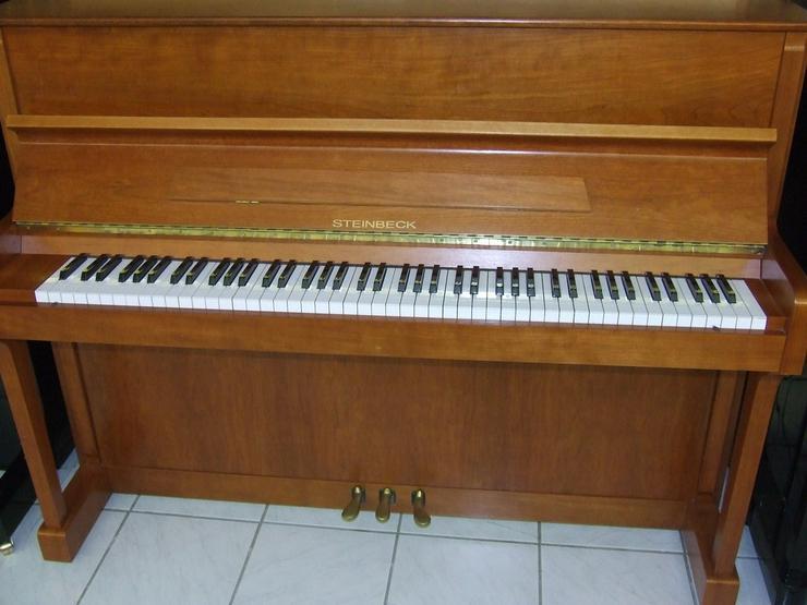 Steinbeck Klavier 113 Kirschbaum gebraucht - Klaviere & Pianos - Bild 1