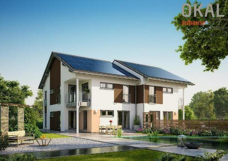 Bild 3: Bauen Sie Ihr eigenes Traum-Doppelhaus mit OKAL - warten Sie nicht länger !!!