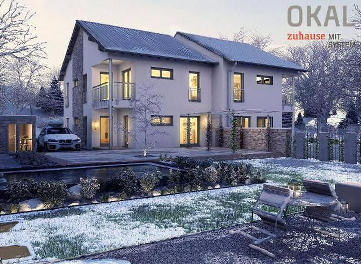 Bild 2: Bauen Sie Ihr eigenes Traum-Doppelhaus mit OKAL - warten Sie nicht länger !!!