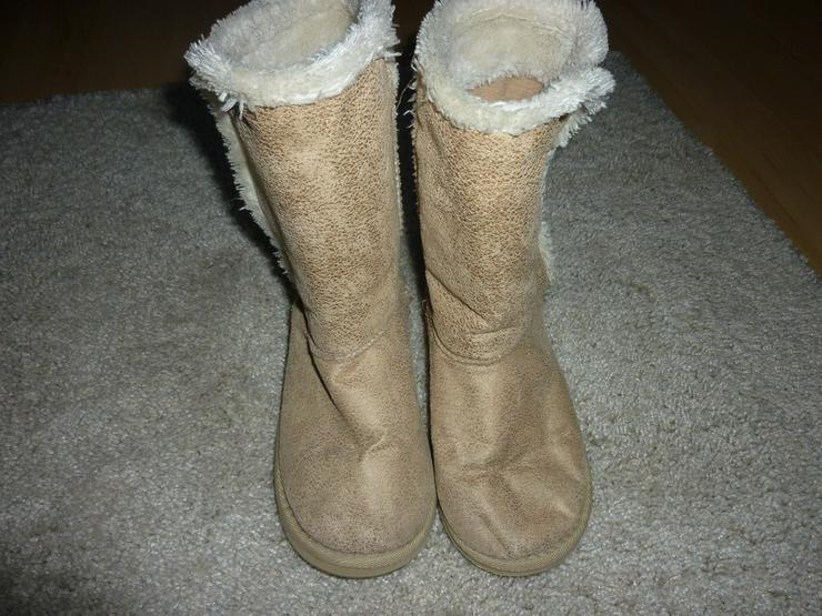 Winterstiefel/ Lammfellstiefel Gr.34 - Schuhe - Bild 1