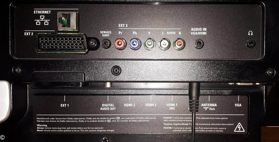 Bild 4: Philips 40 Zoll LED-Fernseher FullHD DVB-T/C/S2