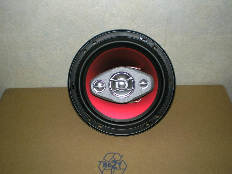 Bild 2: CD-Radio + 4 Einbaulautsprecher