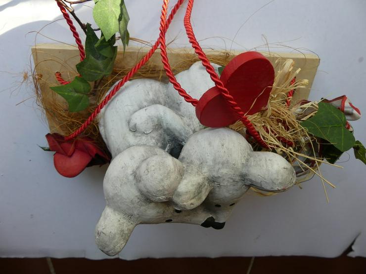 Bild 6: Deko mit Mäusen und Herzen