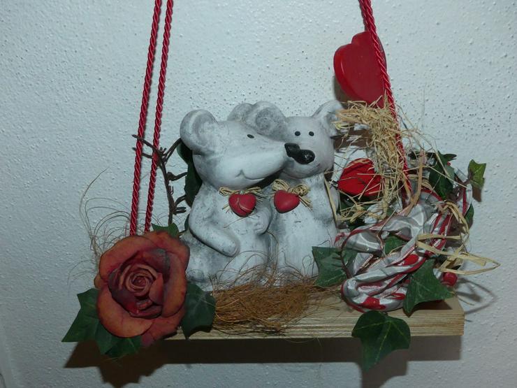 Bild 3: Deko mit Mäusen und Herzen