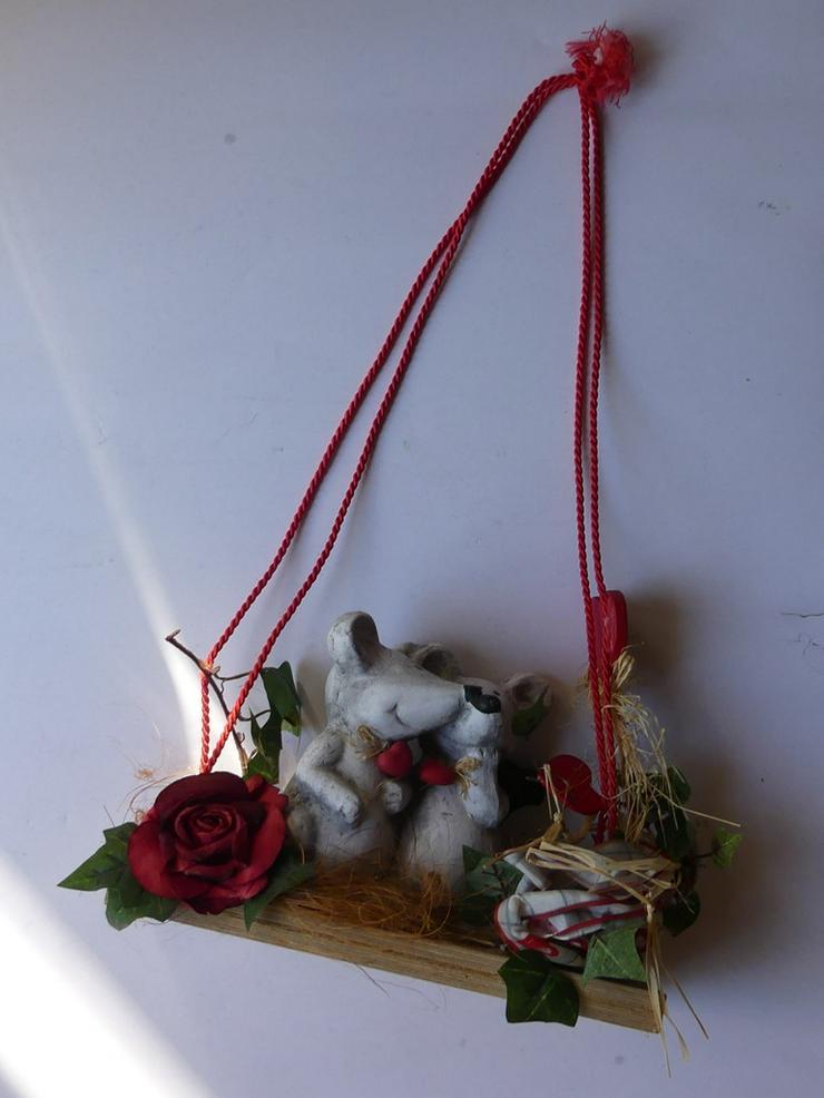 Bild 4: Deko mit Mäusen und Herzen