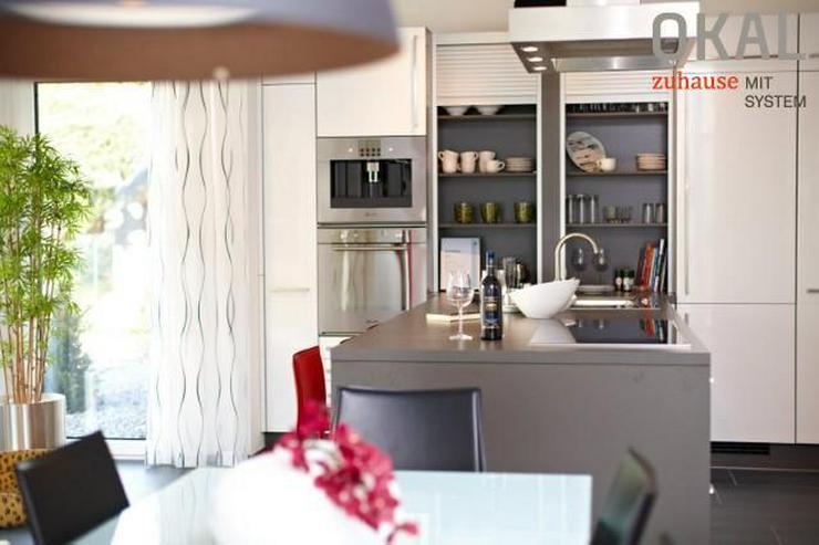 Bild 5: Effizienzhaus 40 Plus - Klassischer Baustil, doch ein Berühren aller Sinne.