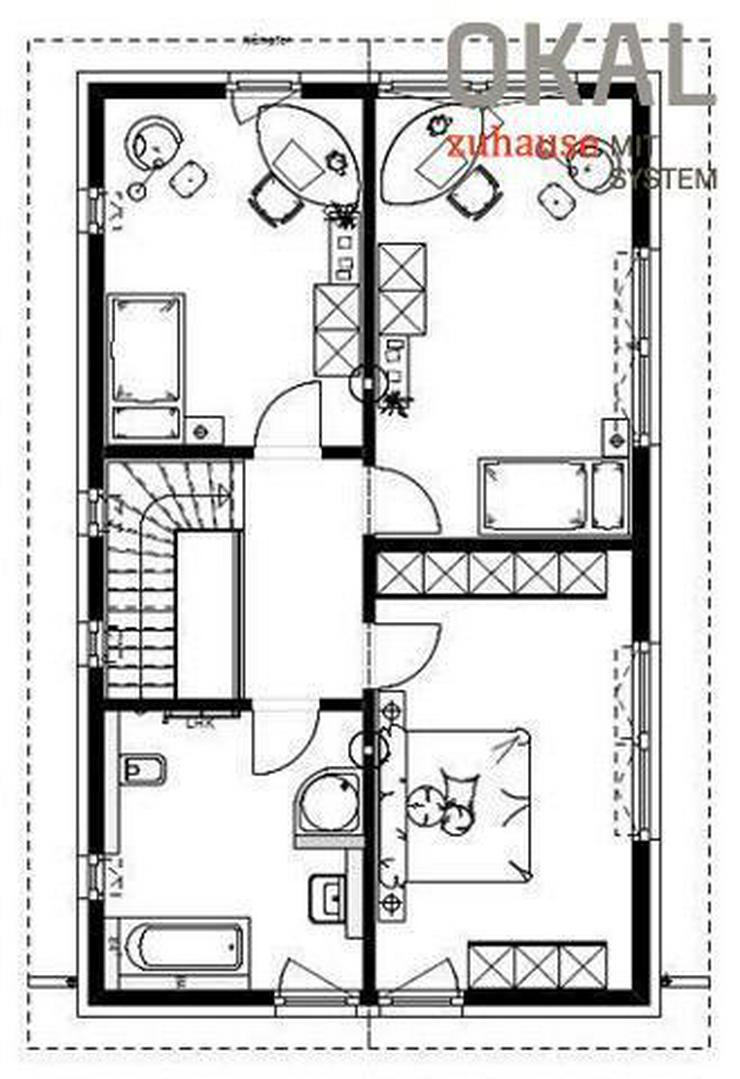 Bild 3: Effizienzhaus 40 Plus - Klassischer Baustil, doch ein Berühren aller Sinne.